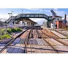 Railway bridge - Newhaven Photographic Print