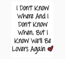 Lovers Again Lyrics by DanYMA6