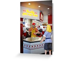 Black Fryday never really achieved success in the food sector. Greeting Card