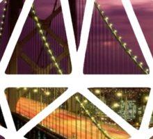 UNDERMINED San Francisco Sticker