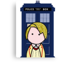 The 5th Doctor Canvas Print