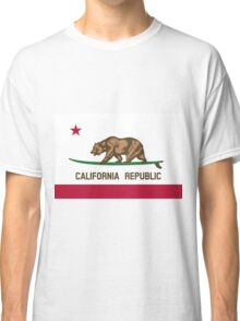 Surfing California Bear Classic T-Shirt