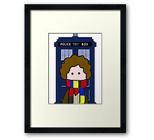 The 4th Doctor Framed Print