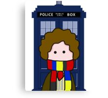 The 4th Doctor Canvas Print