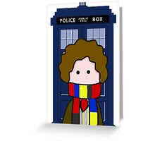 The 4th Doctor Greeting Card