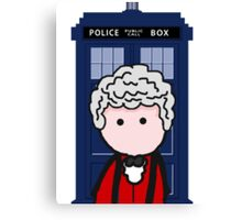 The 3rd Doctor Canvas Print