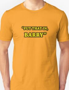 Game Grumps-Put That In, Barry T-Shirt