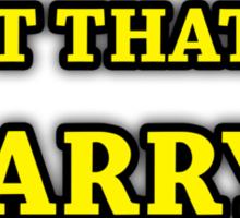 Game Grumps-Put That In, Barry Sticker