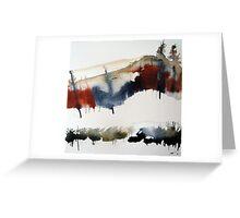Mount Royal #3, Montreal, watercolour Greeting Card