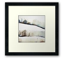 Mount Royal #4, Montreal, watercolour Framed Print