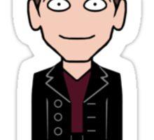 The Ninth Doctor (sticker) Sticker