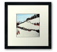 Mount Royal #5, Montreal, watercolour Framed Print