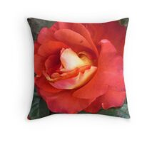 My Fall Rose Throw Pillow