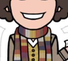 The Fourth Doctor (sticker) Sticker