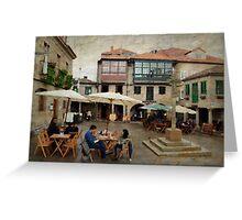 Prazas de Pontevedra Greeting Card