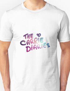 The Carrie Diaries Purple Galaxy Nebula  T-Shirt