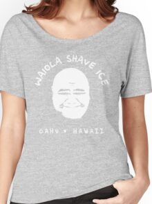 Waiola Shave Ice (White) Women's Relaxed Fit T-Shirt