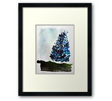 A Tree Grows In Mount Royal,  Montreal Framed Print