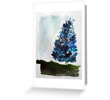 A Tree Grows In Mount Royal,  Montreal Greeting Card