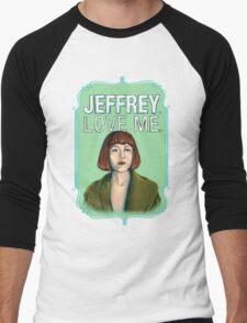 BIG LEBOWSKI-Maude Lebowski- Jeffrey. Love me. Men's Baseball ¾ T-Shirt