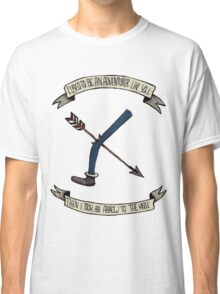 i used to be an adventurer like you Classic T-Shirt