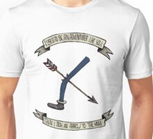 i used to be an adventurer like you Unisex T-Shirt