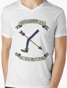 i used to be an adventurer like you Mens V-Neck T-Shirt