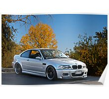 2005 BMW M5 Sports Coupe Poster