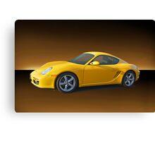 2007 Porsche Cayman II Canvas Print