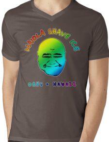 Waiola Shave Ice (Rainbow) Mens V-Neck T-Shirt