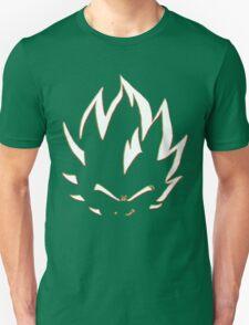 Vegeta White Neon Outline T-Shirt