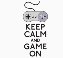 Keep calm and game on by theonlynonam