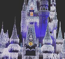 Cinderella Castle Dream Lights by melodykphotos