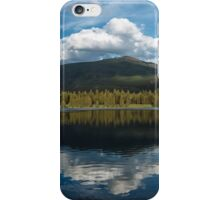 Clouds over the mountain iPhone Case/Skin