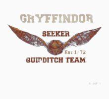 Gryffindor tee by theonlynonam