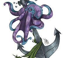 La Pieuvre - Colored by MareveDesign