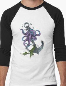 La Pieuvre - Colored Men's Baseball ¾ T-Shirt
