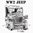 WW2 jeep by RFlores