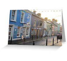 Irish town Greeting Card