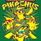 Teenage Mutant Ninja Pikachus by TeeNinja