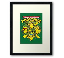 Teenage Mutant Ninja Pikachus Framed Print