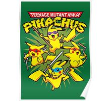 Teenage Mutant Ninja Pikachus Poster