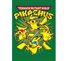 Teenage Mutant Ninja Pikachus Photographic Print