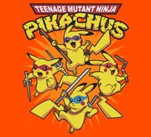 Teenage Mutant Ninja Pikachus Kids Clothes