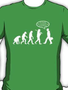 Funny! Evolution FAIL T-Shirt