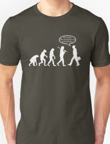 Funny! Evolution FAIL Unisex T-Shirt