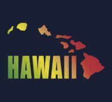 Hawaiian Islands (Vintage Distressed Design) Kids Clothes