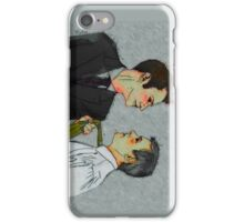 Cat got your tongue, Inspector? iPhone Case/Skin