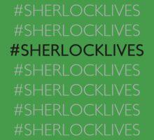 #SHERLOCKLIVES One Piece - Short Sleeve