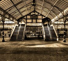 Tynemouth Metro Station by Andrew Pounder